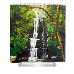 Minnumurra Falls Shower Curtain