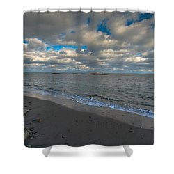 Minot Beach Shower Curtain