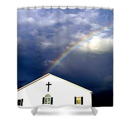 Miracle Birth Today Shower Curtain