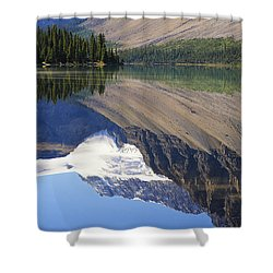 Mirror Lake Banff National Park Canada Shower Curtain