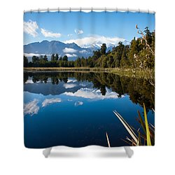 Mirror Landscapes Shower Curtain