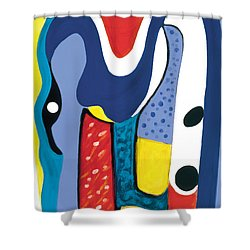 Mirror Of Me 1 Shower Curtain by Stephen Lucas