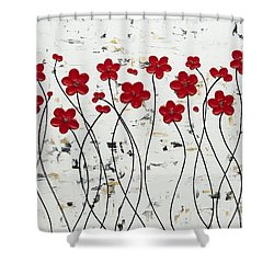 Mis Amores Shower Curtain