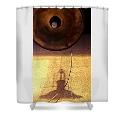 Misperception Shower Curtain by James Aiken