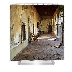 Mission 1 Shower Curtain