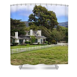 Mission Ranch - Carmel California Shower Curtain