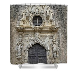 Mission San Jose Doorway Shower Curtain