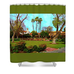 Mission San Juan Capistrano No 11 Shower Curtain