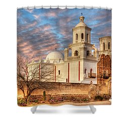 Mission San Xavier Del Bac 2 Shower Curtain