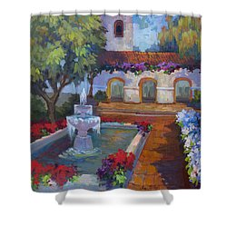 Mission Via Dolorosa Shower Curtain
