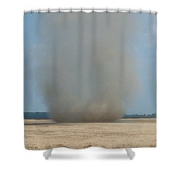 Mississippi Dust Devil Shower Curtain