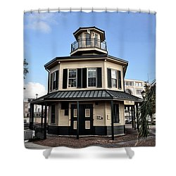 Mississippi River Lighthouse New Orleans Shower Curtain by Bill Cannon
