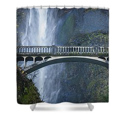 Mist And Stone Shower Curtain