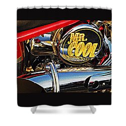 Mister Cool  Shower Curtain by Chris Berry