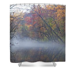 Mists Of Time Shower Curtain by Bill Cannon