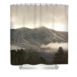 Misty Mountain Hop... Shower Curtain by Tammy Schneider