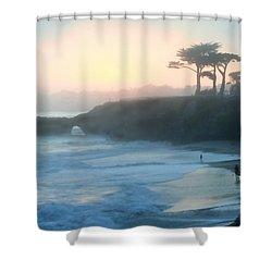 Misty Santa Cruz Shower Curtain
