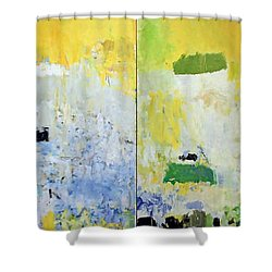 Mitchell's Salut Tom Shower Curtain by Cora Wandel
