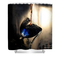 Shower Curtain featuring the photograph Mixing Colors by Randi Grace Nilsberg