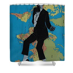 Mj Billie Jean Shower Curtain