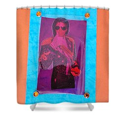 Mj Grammy Awards Shower Curtain