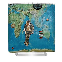 Mj Rock With You Shower Curtain
