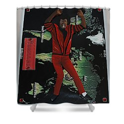 Mj Thriller Shower Curtain
