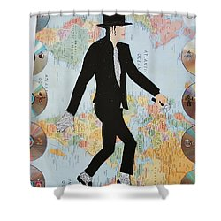 Mj We Are The World Shower Curtain