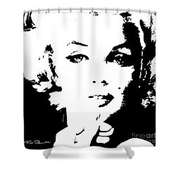 Mm 132 Sw Shower Curtain