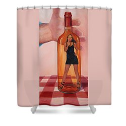 Mmm... Shower Curtain by Sandi Whetzel