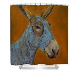 Mo Vision,donkey Shower Curtain