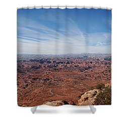 Moab  Shower Curtain by Cathy Anderson