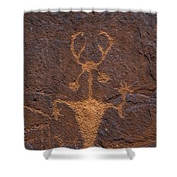 Moab Man - Fs000397 Shower Curtain by Daniel Dempster