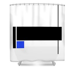 Moda 5 - Modern Art By Sharon Cummings Shower Curtain by Sharon Cummings