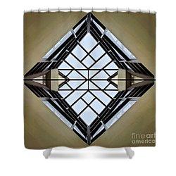 Modal Logic Shower Curtain by Charles Dobbs
