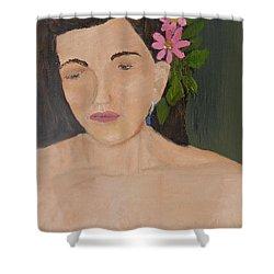 Model 3 From Shane Pecks Photograthy Shower Curtain by Pamela  Meredith