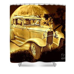 Model T Fantasy  Shower Curtain