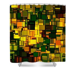 Modern Abstract Xxii Shower Curtain by Lourry Legarde
