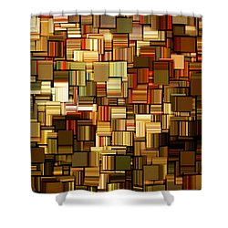 Modern Abstract Xxiii Shower Curtain by Lourry Legarde
