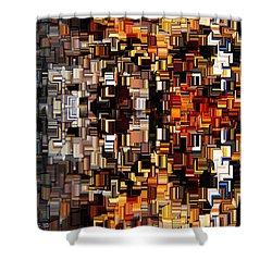 Modern Abstract Xxvii Shower Curtain by Lourry Legarde