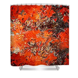 Modern Abstract Xxx Shower Curtain by Lourry Legarde