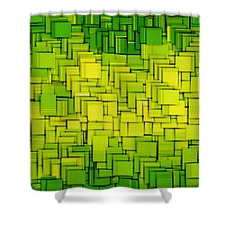 Modern Abstract Xxxiii Shower Curtain by Lourry Legarde