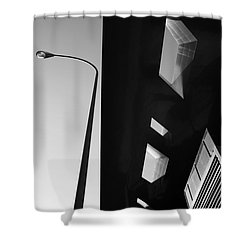 Shower Curtain featuring the photograph Modern Architecture by Craig B