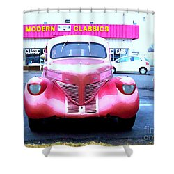 Modern Classics Shower Curtain by MJ Olsen