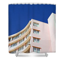 Modern Curves Shower Curtain by Keith Armstrong