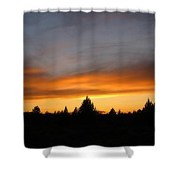 Modoc Sunset Shower Curtain