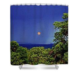 Mogollon Moon Shower Curtain