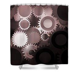 Mojo Synchronicity Shower Curtain by Bob Orsillo