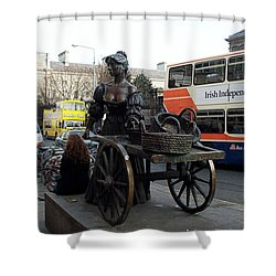 Shower Curtain featuring the photograph Molly Malone by Barbara McDevitt