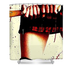 Molly's Hatchet Shower Curtain